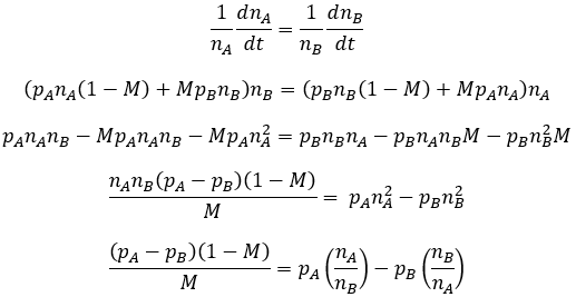Differentiation equation evolutionary equilibrium with mutation