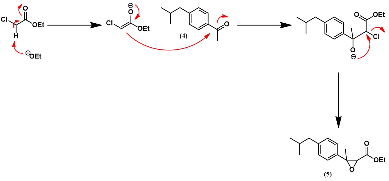 Darzens reaction mechanism